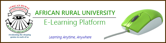 African Rural University E-Learning Platform